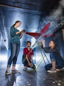 Wind Tunnel Students
