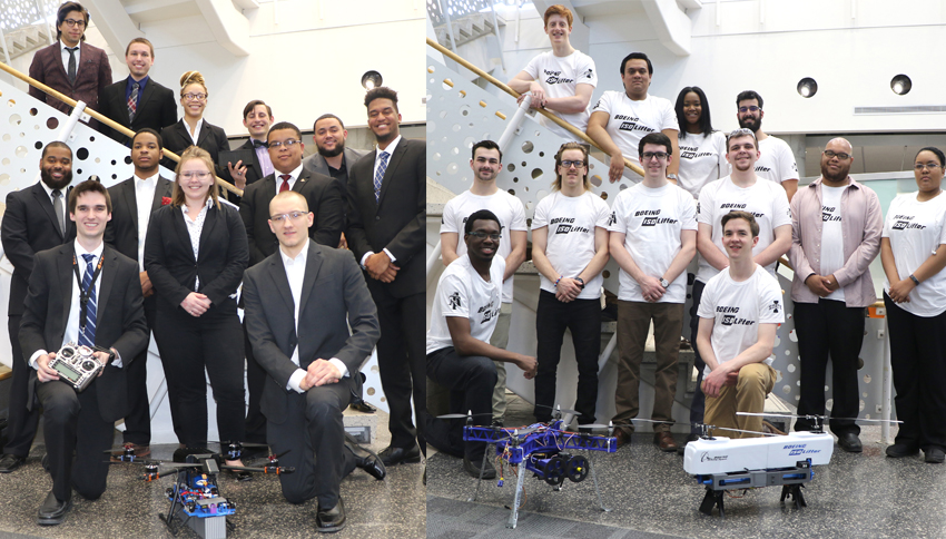 Boeing Capstone Project teams