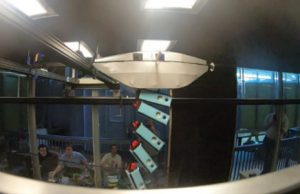 Test in AABL wind tunnel