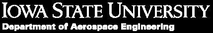 Aerospace Engineering at Iowa State University